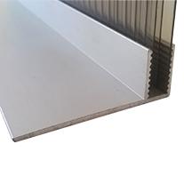 Aluminium F Flashing