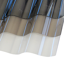 Laserlite 2000 Corrugated Polycarbonate Sheet Corrugated