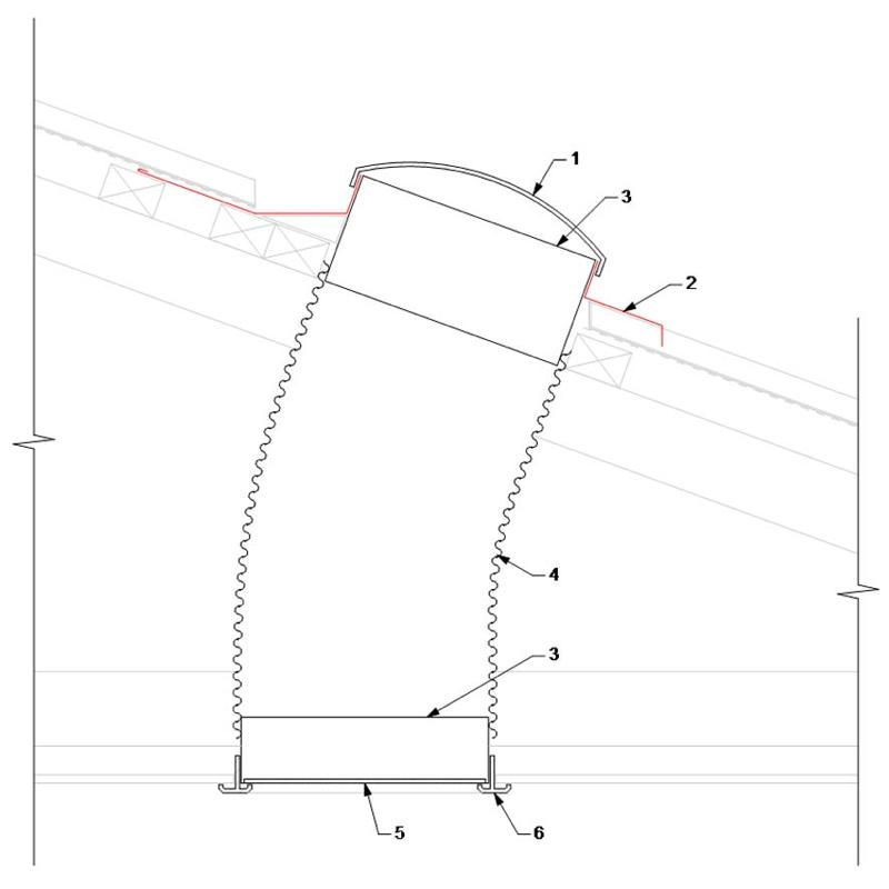 lumino 300mm tubular skylight skylights amp ventilators 2010 camaro spoiler installation diagram