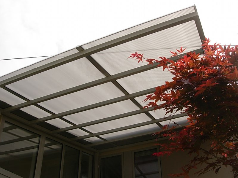 8mm Platinum Twinwall Patio roof