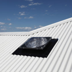 Sky Tunnel Skylight Corrugated Complete Unit