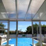 Twinwall 8mm used in sunroom roof.